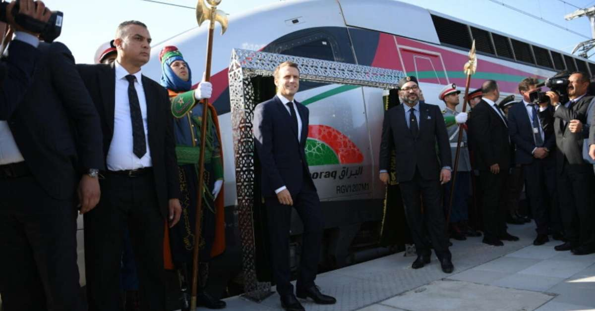 morocco tgv high speed train